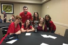 Communicative Disorders Students Win Quiz Bowl