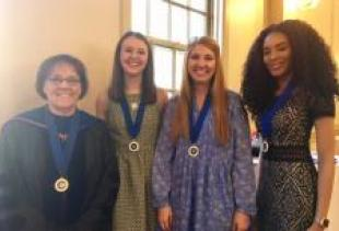 CODI Undergraduates Inducted to National Phi Kappa Phi Honor Society